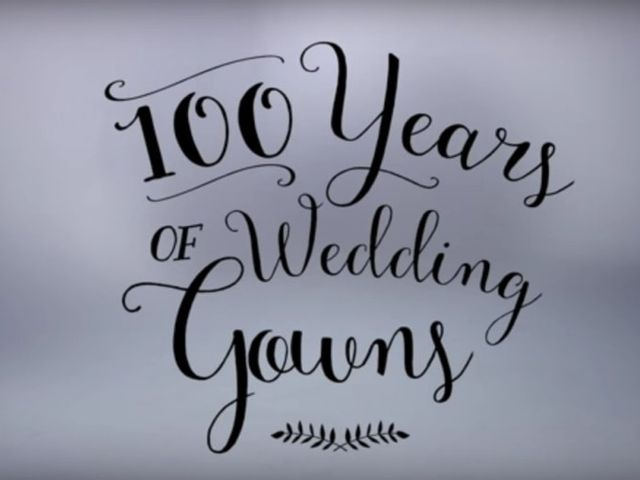 100 años de vestidos de novia ¡Descubre cómo han cambiado las tendencias en 3 minutos!