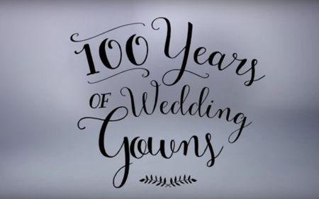 100 a�os de vestidos de novia �Descubre c�mo han cambiado las tendencias en 3 minutos!