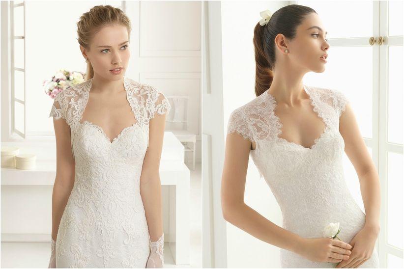 Modelos de escotes para vestidos de novia