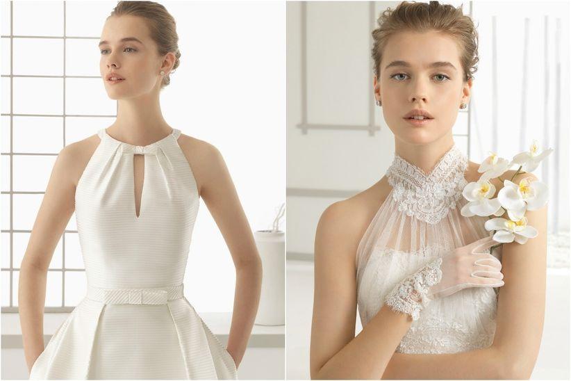 0a389b742 Tipos de escote para el vestido de novia - bodas.com.mx