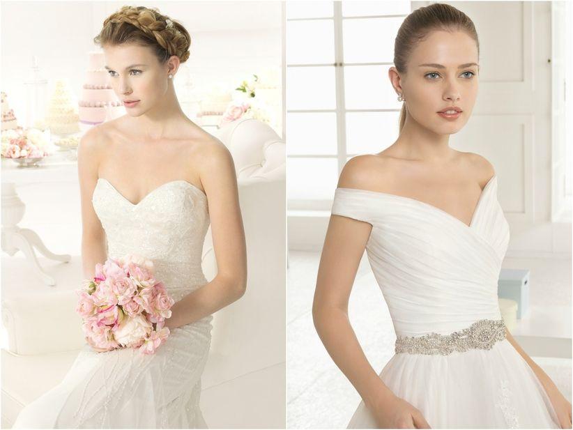 Nombres de estilos de vestidos de novia