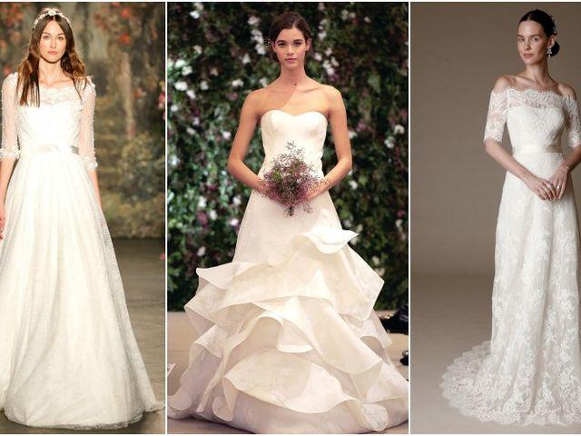 Vestidos de novia Bridal Week New York primavera-verano 2016