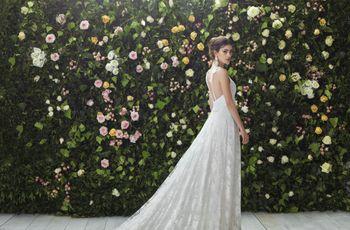 Colección de Blumarine 2017: vestidos de novia románticos, etéreos y dulces