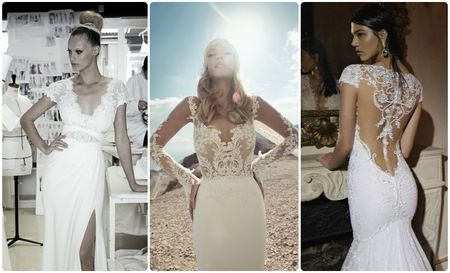 10 vestidos para novias muy sexys