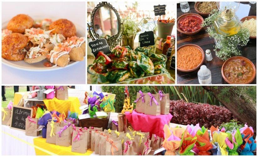 Decoracion de bodas estilo mexicano for Decoracion de comida