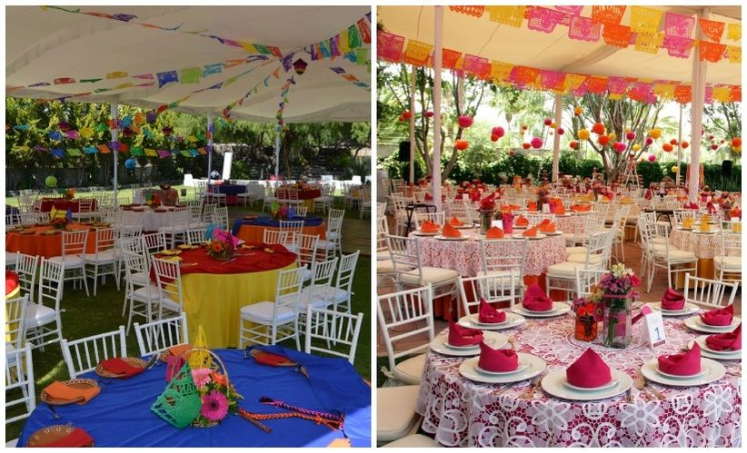 Estilo Mexicano Ideas Para Decoracion ~ ideas para una boda perfecta estilo mexicano  bodas com mx