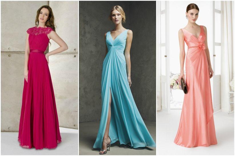 Vestidos elegantes para tus damas de honor - bodas.com.mx 829417e9d20e