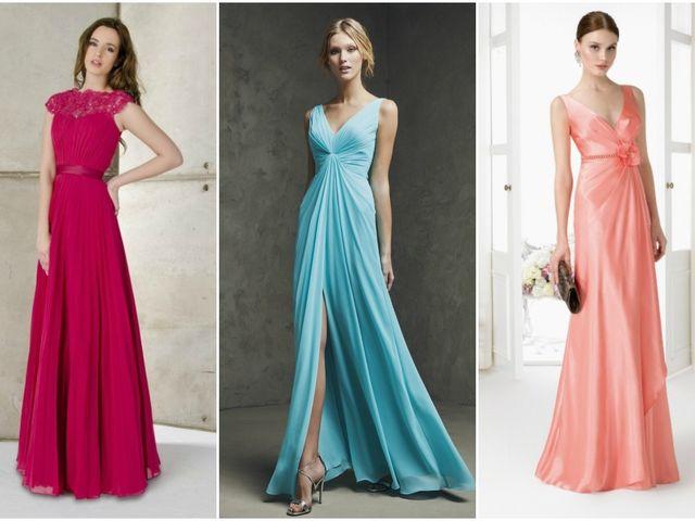 Vestidos elegantes para tus damas de honor