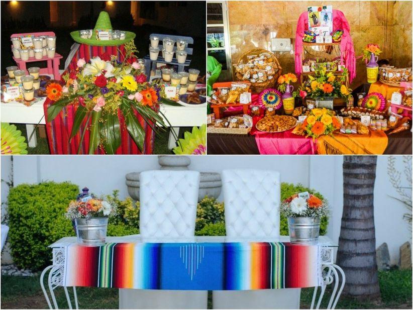 Decoración de bodas campestres   bodas.com.mx