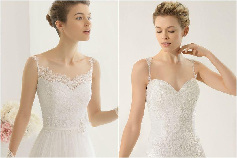 Como modificar un vestido de novia strapless