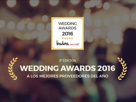 Wedding Awards 2016: los premios que concede bodas.com.mx