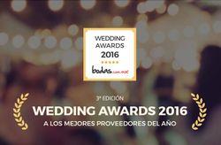Wedding Awards 2016: los premios que concede bodas.com.mx