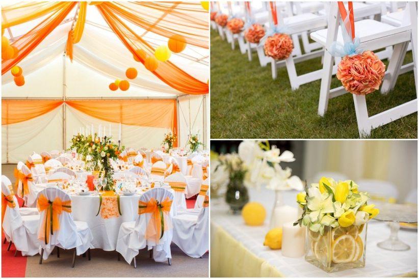 La mejor combinaci n de colores para tu boda - Combinacion de colores para salones ...