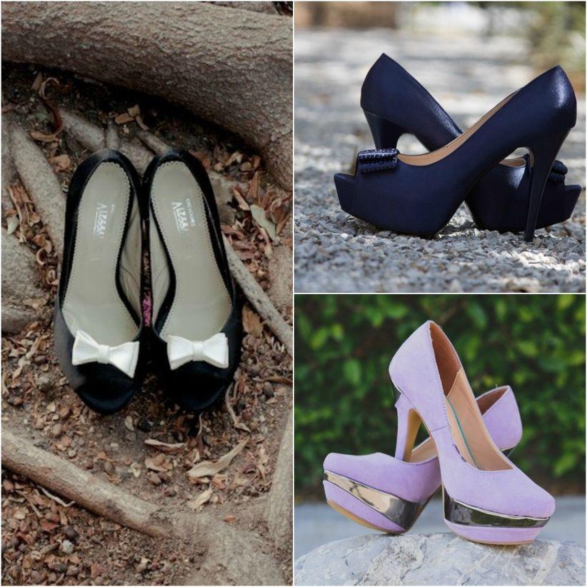 7 tendencias en zapatos de novia 2016 - Zapatos collage ...