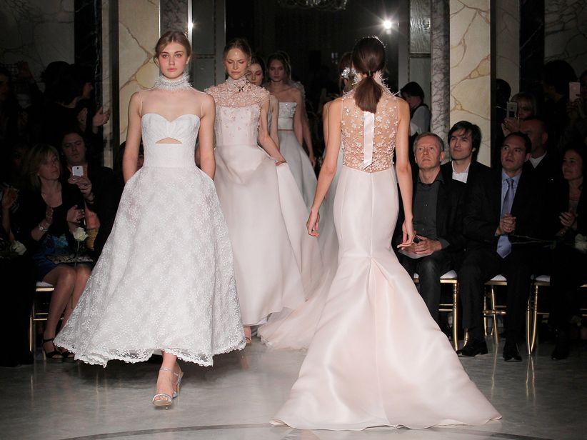 lo nuevo en vestidos de novia de angel sanchez, el diseñador de las