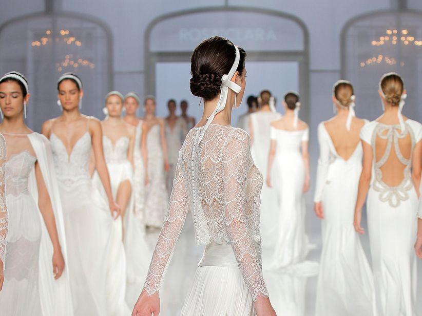 a lucir el cuerpo sin pudor! así son los vestidos de novia rosa