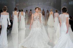Vestidos de novia para viajar en el tiempo: lo nuevo de Jesús Peiró para 2018