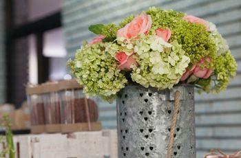 30 centros de mesa para boda sencillos... ¡y encantadores!