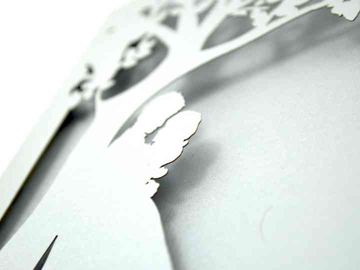 Invitaciones para boda civil: inspírate en el papel picado