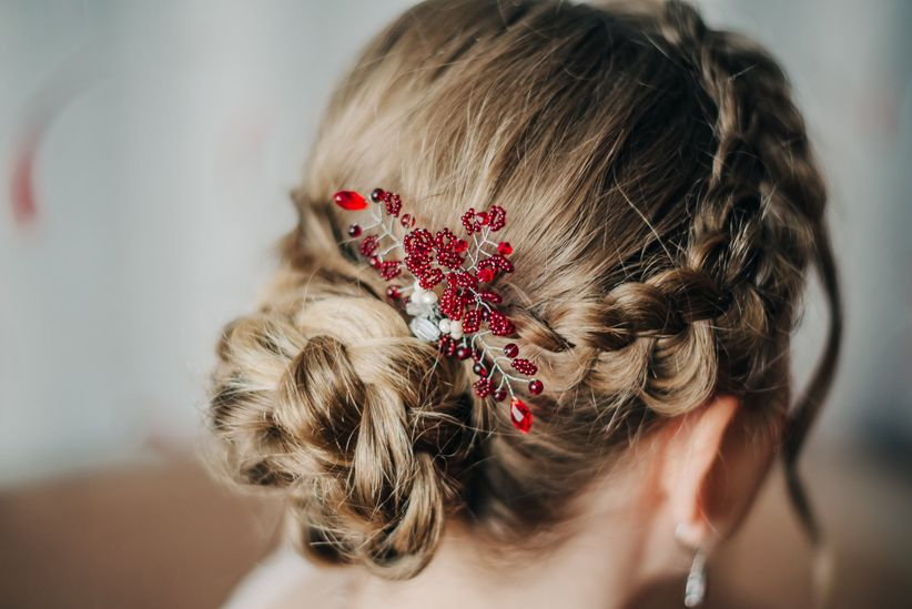 Сharming peinados para bodas sencillos Colección de cortes de pelo estilo - Peinados sencillos para boda: paso a paso ¡y adiós al ...