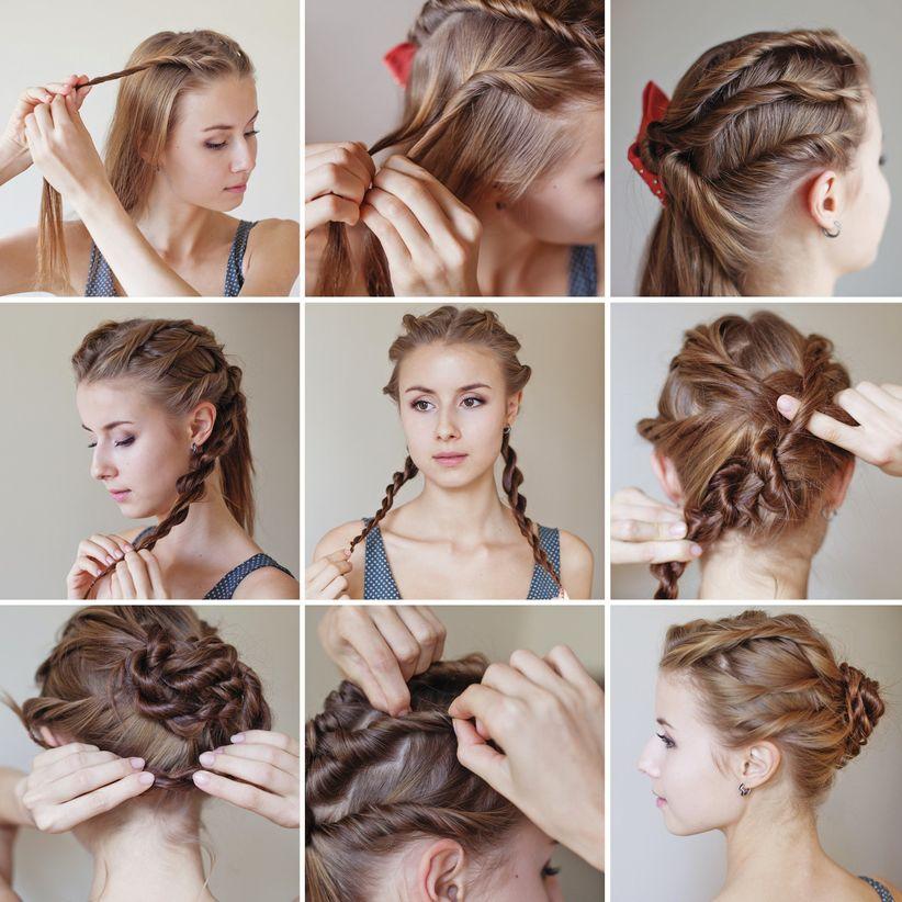 Pasos para hacer un peinado de novia