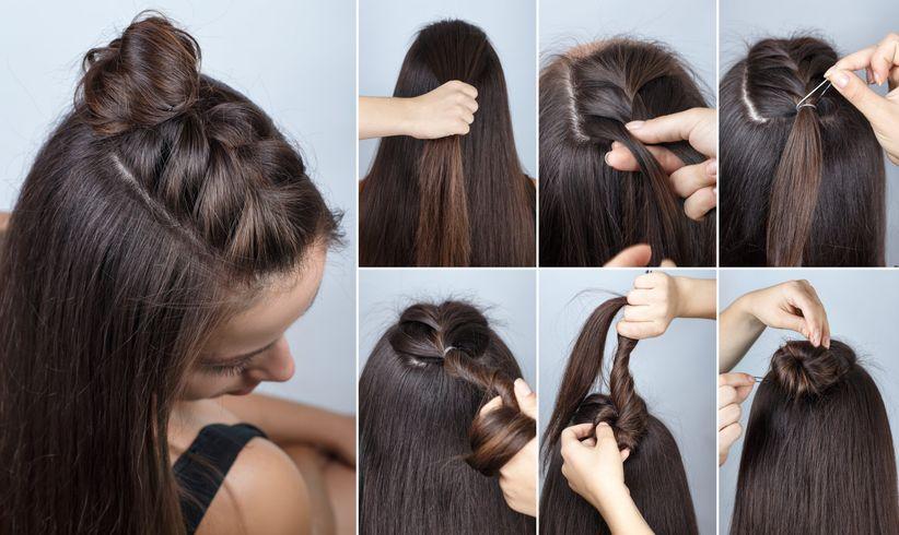 6 trenza superior - Peinados Sencillos