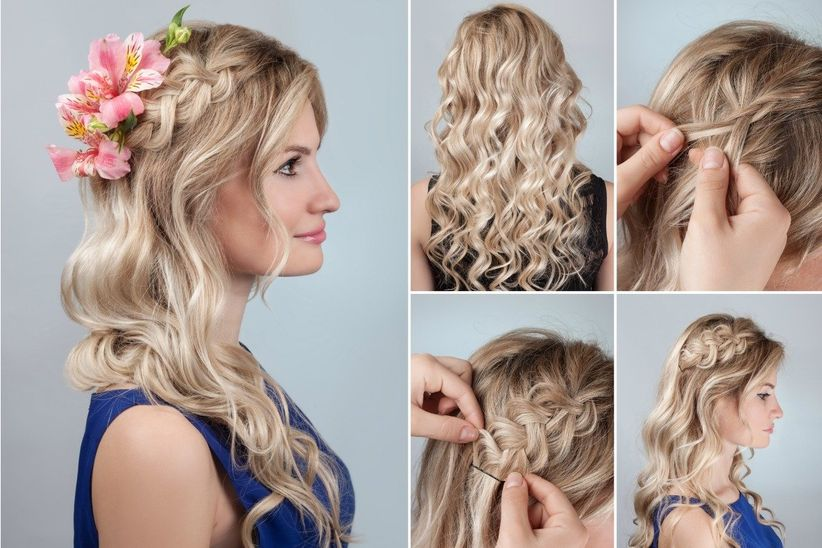 10 peinados de trenzas modernas que querr s mostrarle a tu for Trenza boda