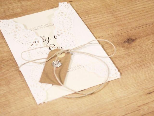 Invitaciones de boda con alma propia: saca tu lado artístico