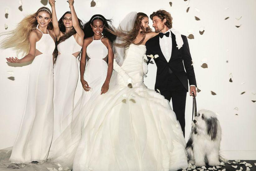 Quién dijo que los vestidos de novia Vera Wang son caros? - bodas.com.mx