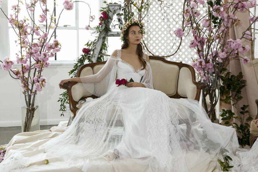 cf93c1cbe 9 tendencias en vestidos de novia para 2018  ¿a cuál le das el