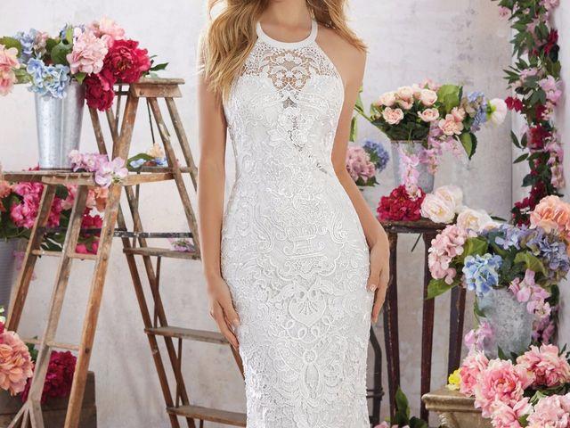 Diccionario de tejidos para el vestido de novia: aprende a diferenciarlos
