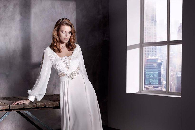 15 tipos de mangas para vestidos de novia - bodas.mx