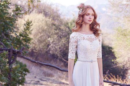 15 tipos de mangas para vestidos de novia