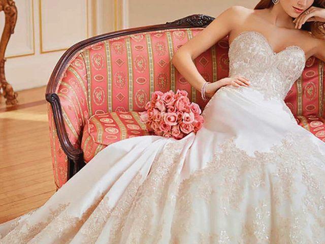 Vestidos de novia Mon Cheri Bridals 2018: amor a lo vintage