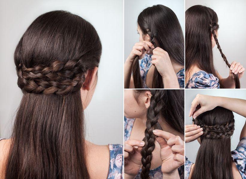 Peinados Medio Recogidos Un Look Casual Para Novias Detallistas