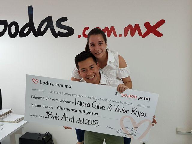 Víctor y Laura se irán de luna de miel ¡gracias al sorteo de Bodas.com.mx!