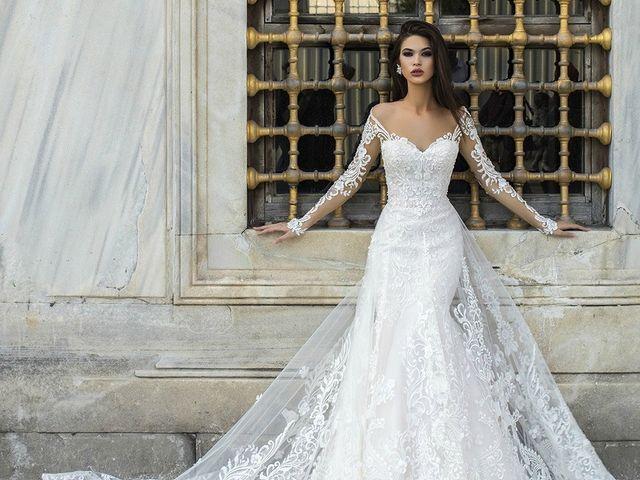 Vestidos de novia Pollardi 2018, la exuberancia de su colección Istanbul