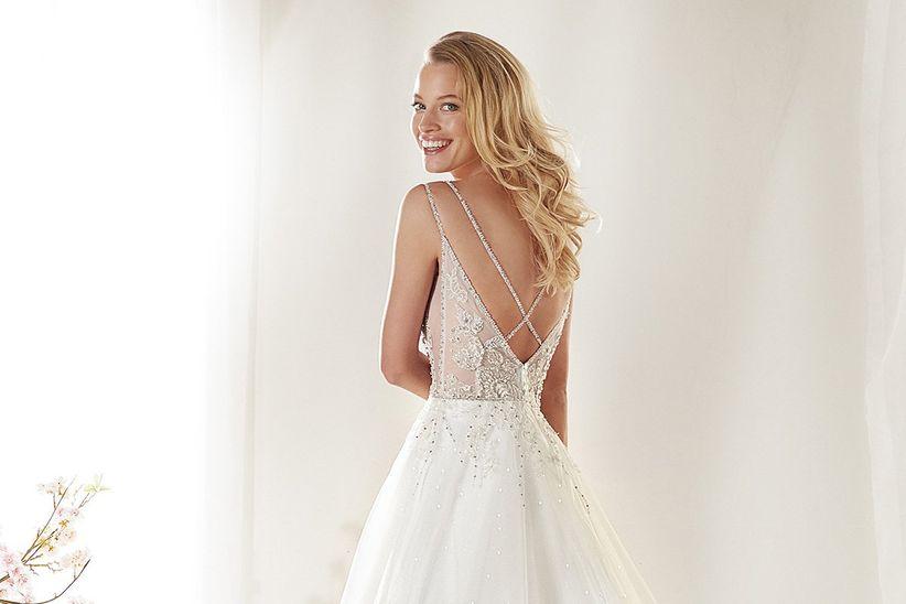 451ded0d2 12 tipos de escote en la espalda del vestido de novia - bodas.com.mx