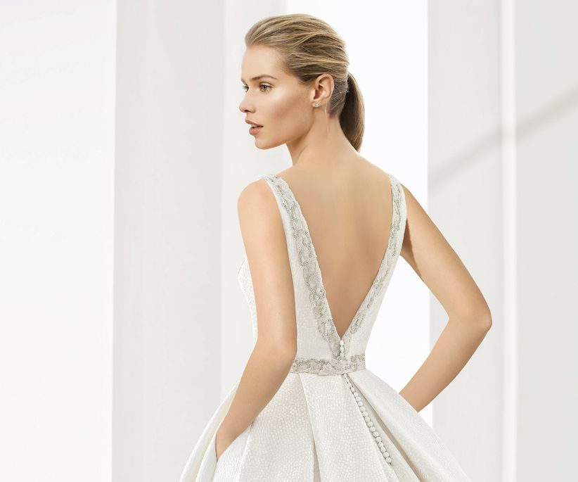 12 tipos de escote en la espalda del vestido de novia - bodas.mx