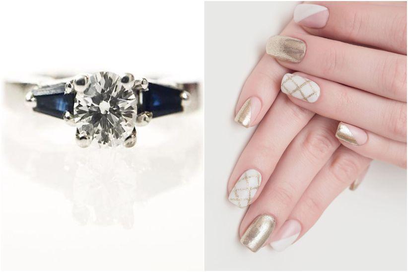 1585f22f1aaf Qué manicura va mejor con tu anillo de compromiso  - bodas.com.mx