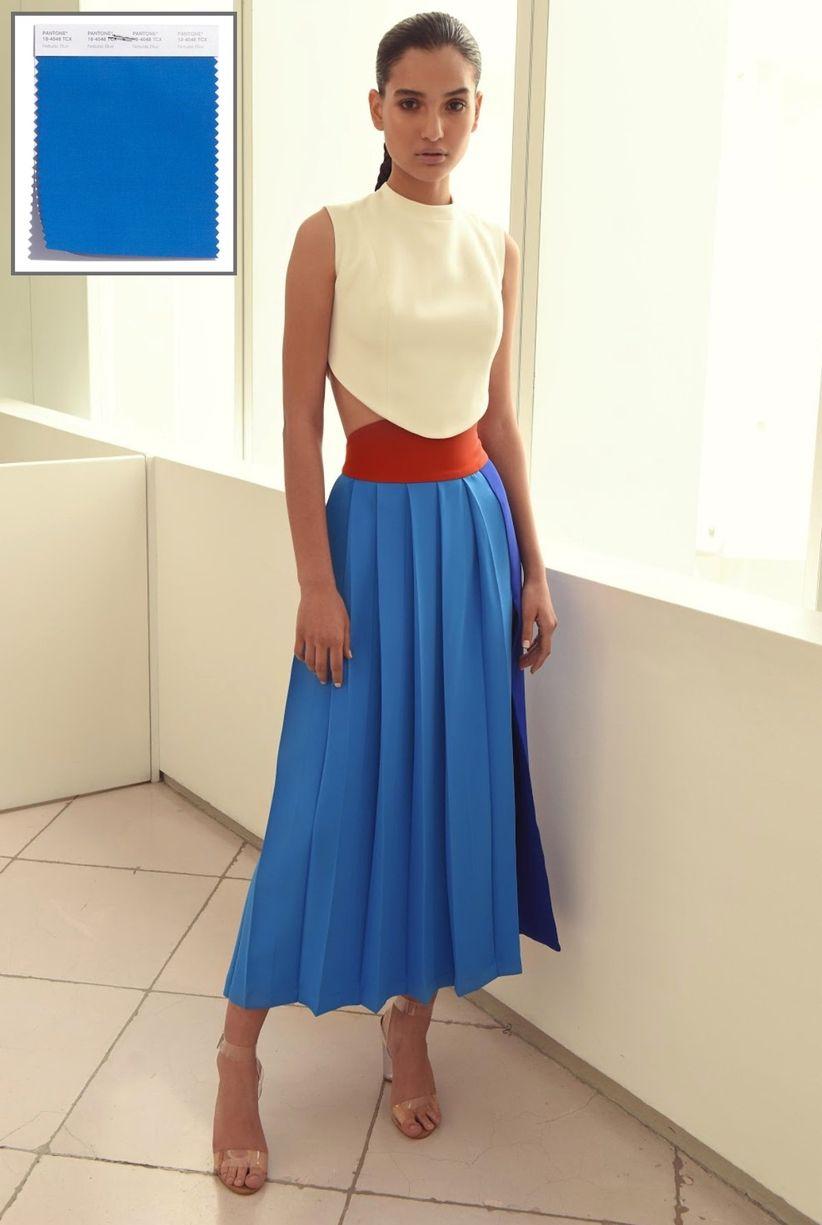 Vestidos para graduacion en azul turquesa