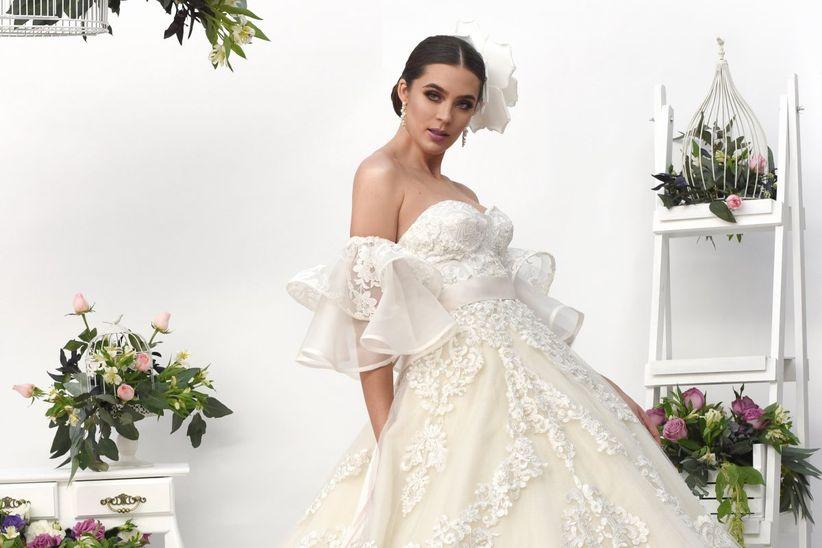 7 tipos de blanco para el vestido de novia con los que entrenarás el