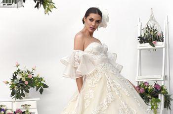 7 tipos de blanco para el vestido de novia con los que entrenarás el ojo
