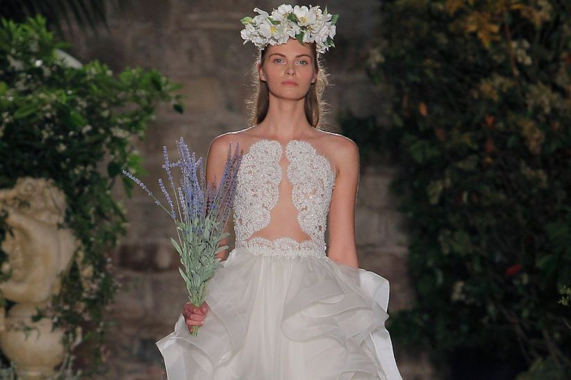 de85ca8f6 70 vestidos de novia modernos ¡que atraparán todos los flashes ...