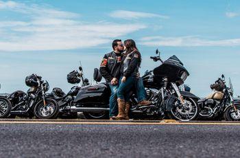 Luna de miel en motocicleta: cómo prepararse para la aventura