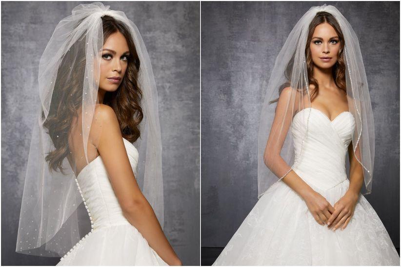 disfruta del mejor precio muy agradable encontrar mano de obra 12 tipos de velos de novia según su longitud, ¿cuál es cuál ...