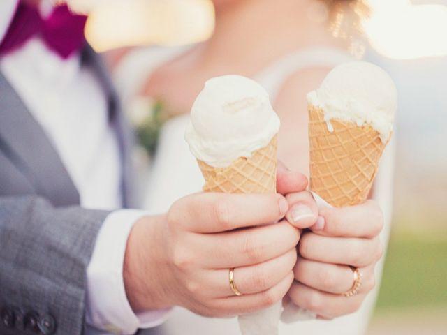 Barra de helados en la boda, ese antojo que los hará derretirse