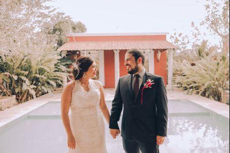Un amor que llegó del hospital al altar, así fue la boda de Cindy y Manuel