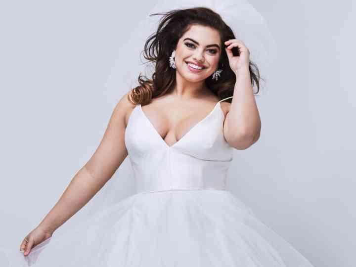30 vestidos de novia para gorditas ¡y cásate con tus curvas!