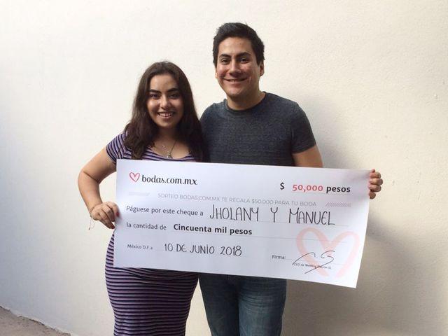 A seis meses de su boda, Manuel y Marbella ¡ganan el sorteo de Bodas.com.mx!